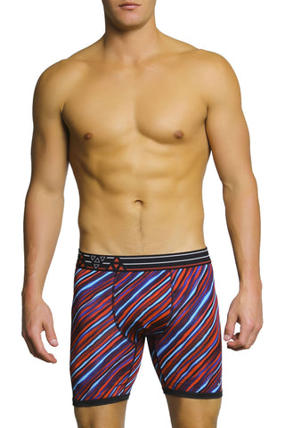 Balanced Tech Red & Blue Performance Boxer Brief