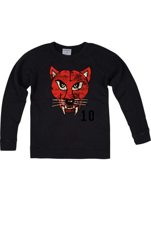 Rxmance Unisex Black Cat Crew Sweatshirt - CheapUndies.com