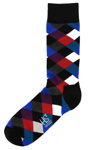 Happy Socks Diamond-007 Sock