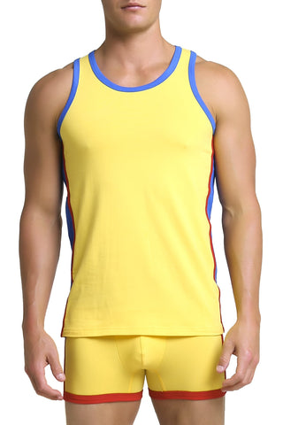 Papi Yellow Heritage Tank Top