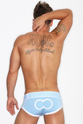 2eros Sky Blue/White Icon 3 Brief