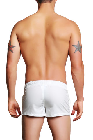 PoolBoy White Shorty Short