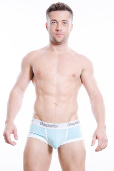 CheapUndies Sky Blue Cotton Boxer
