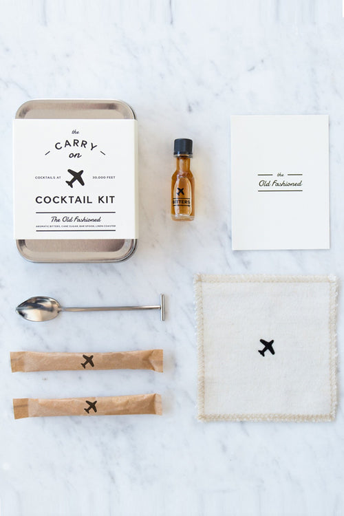 W&P Design Old Fashioned Carry-On Cocktail Kit - CheapUndies.com