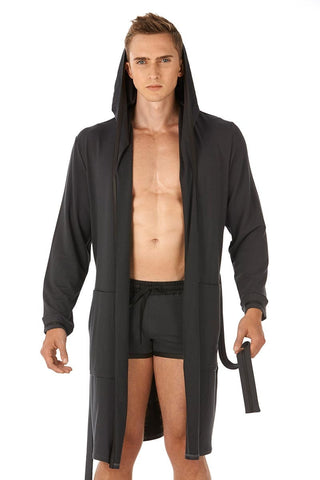 Gregg Homme Charcoal Liberty Robe
