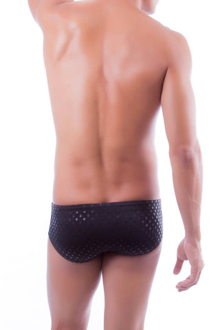 Jor Black Glow Swim Brief