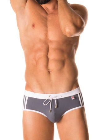 Jor Grey Sport Swimwear Brief