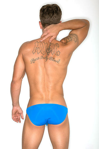 CheapUndies Blue Enhancement Swim Bikini