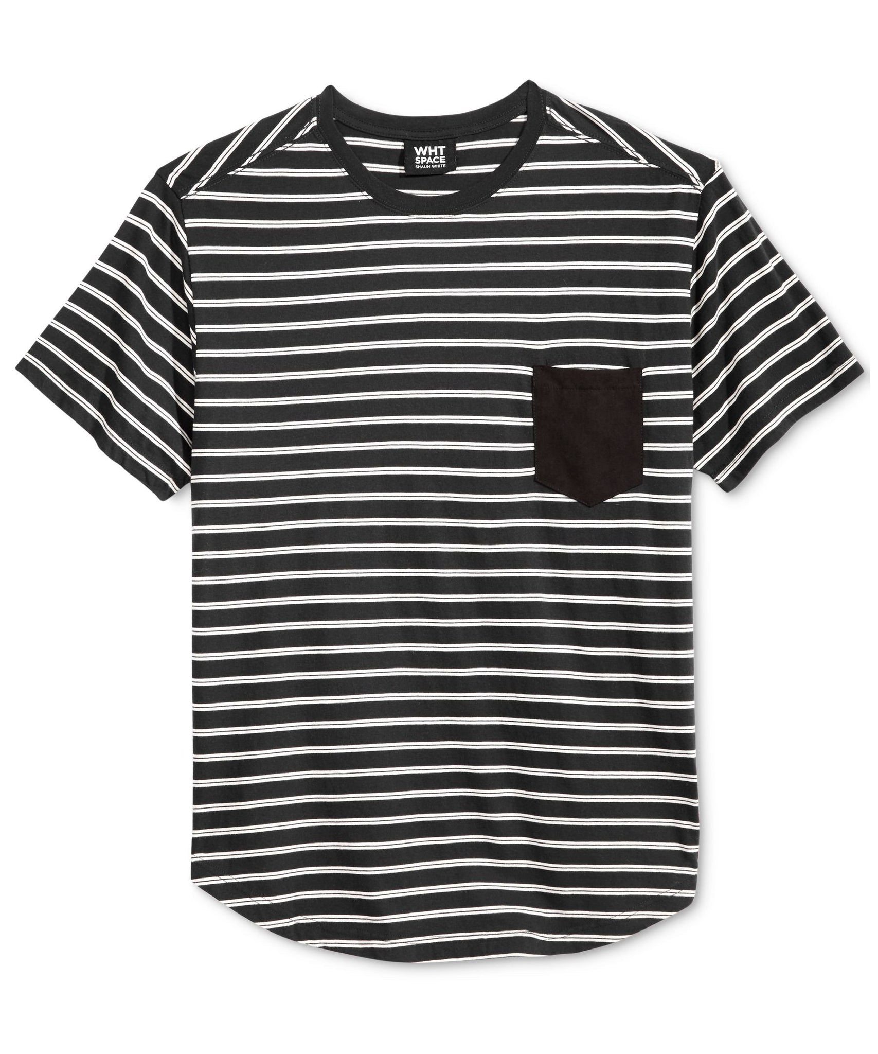 WHT SPACE by Shaun White Men's Soho Stripe T-Shirt
