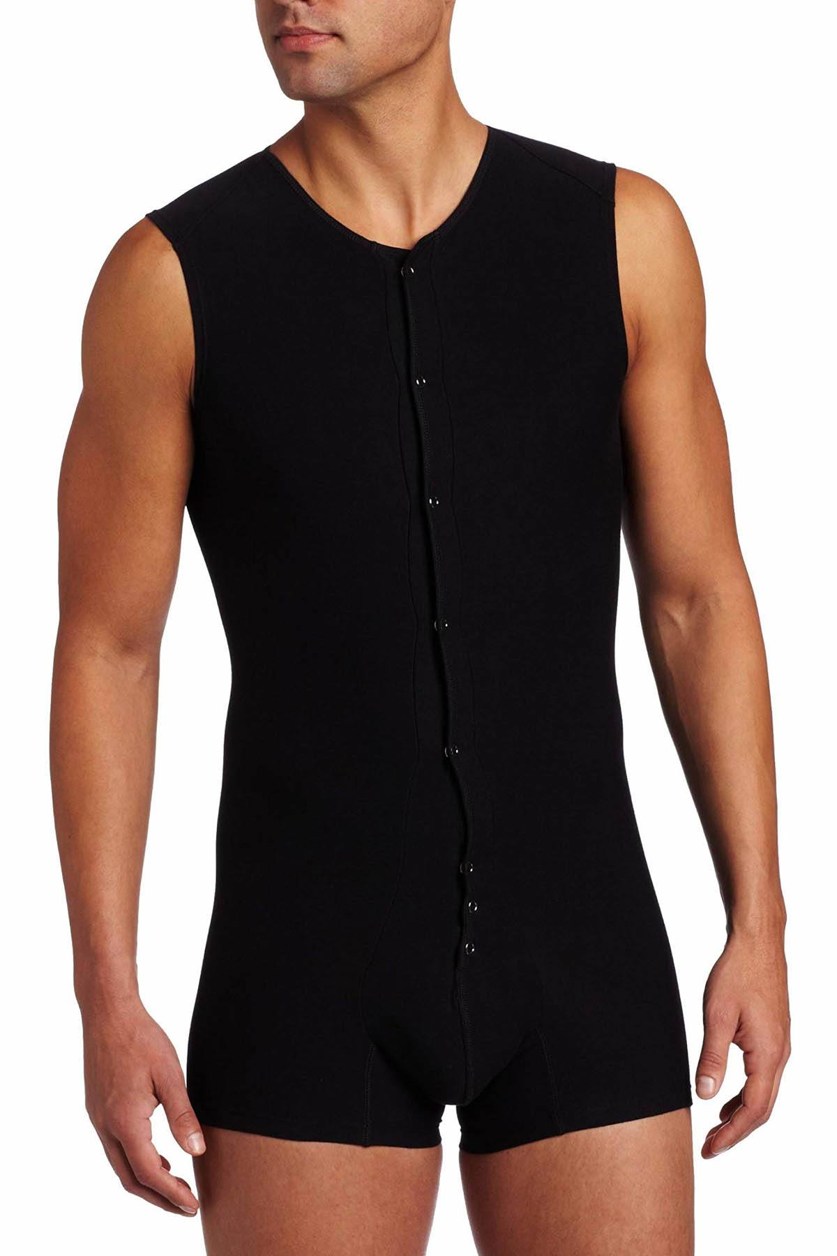 Unico Black Sleeveless Bodysuit