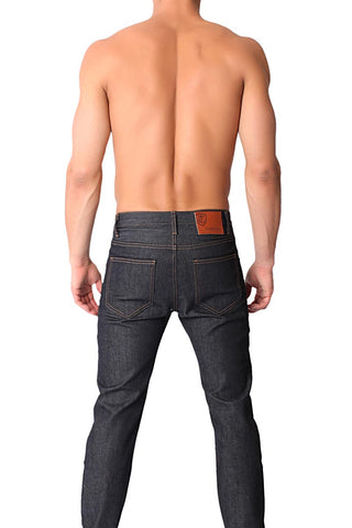 Timoteo Raw Blue Echo Park Straight Leg Jean