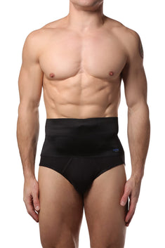2(X)IST Black 6 Inch Shaper Brief