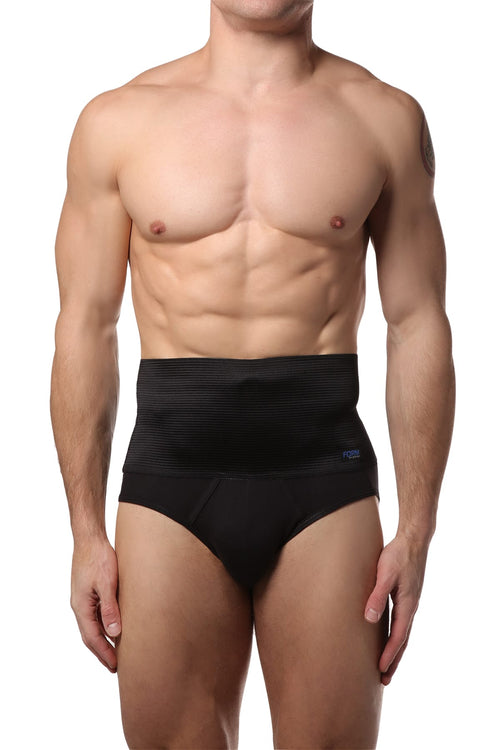 2(X)IST Black 6 Inch Shaper Brief - CheapUndies.com