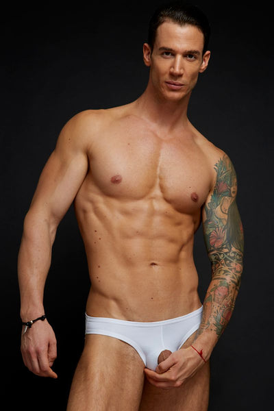Extreme Collection White Cockout Jockstrap - CheapUndies.com
