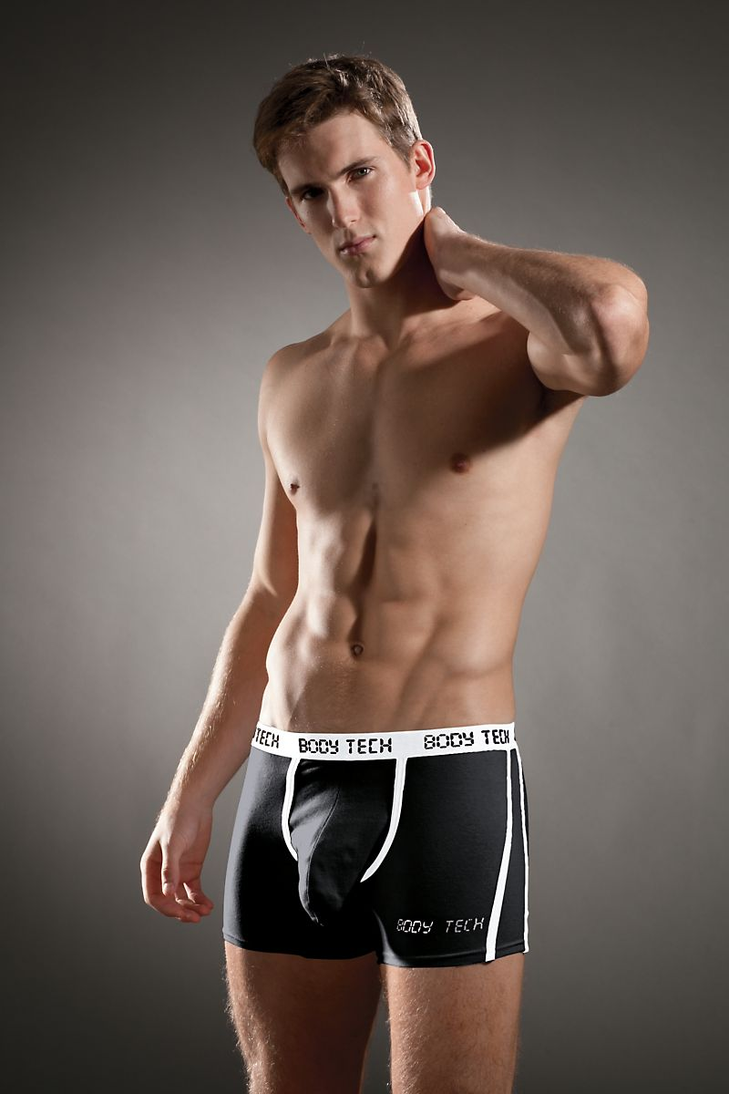 Body Tech Black Maximizer Boxer Brief