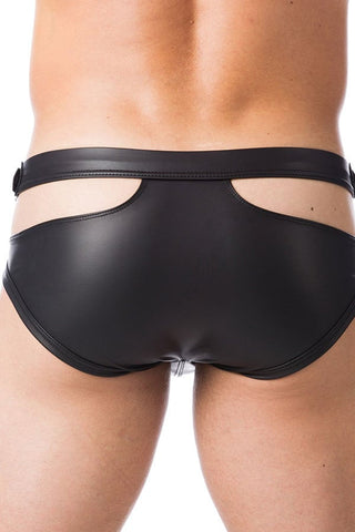 Gregg Homme Black Double Haze Brief