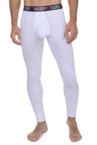 2(X)IST White Tartan Long Underwear