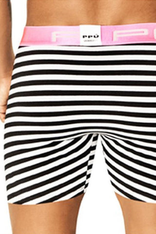 PPU Pink Piping Stripe Boxer Brief