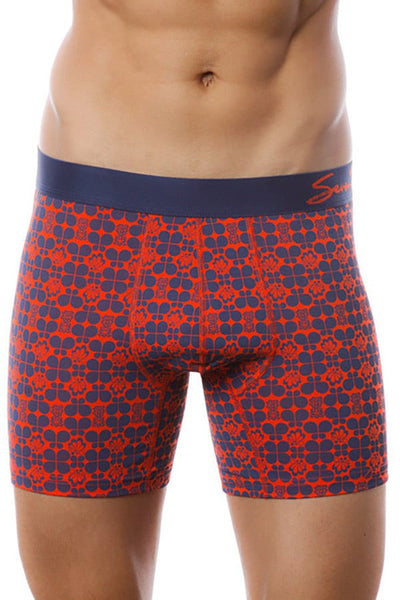 Seven7 Navy & Red Retro 2-Pack Boxer Brief