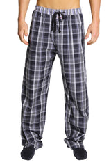 English Laundry Black Plaid Drawsting Pant