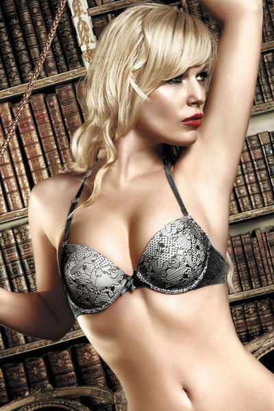 Baci Flower Lace Bra with Underwire
