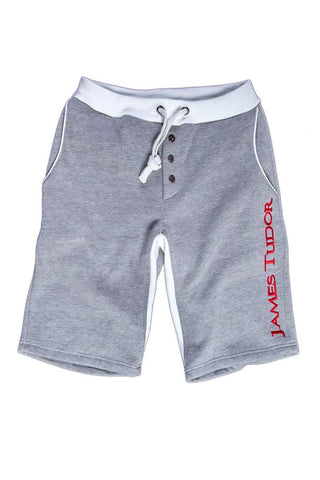 James Tudor Grey & Red Cambridge Short
