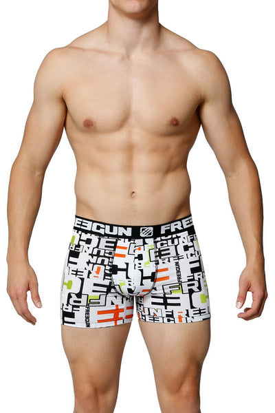 Freegun White Logo Boxer Brief - CheapUndies.com