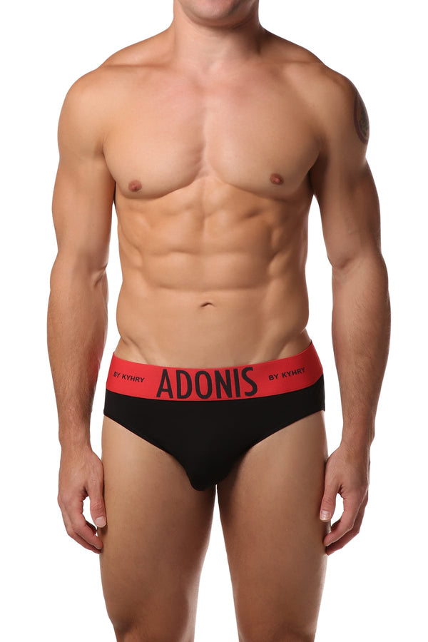 Adonis Black Brief - CheapUndies.com