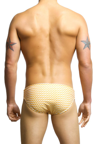 Radical Element L.A. Orange Swim Luke Brief