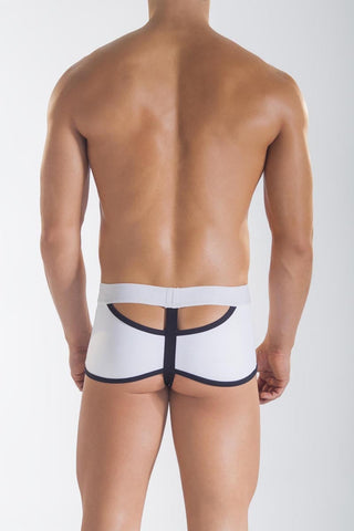 Mandies White Vertigo Boxer-Thong