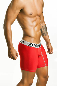 Male Basics Red Boxer Brief