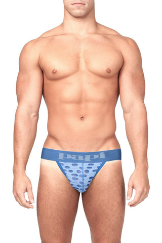 Papi Blue Full Throttle Jock Strap