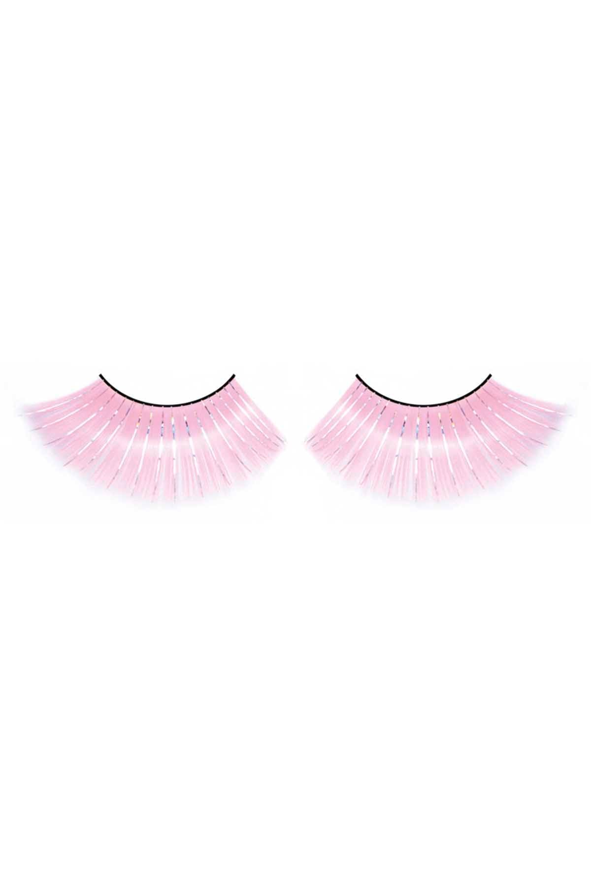 Baci Pink Glitter Magic Colors Eyelashes