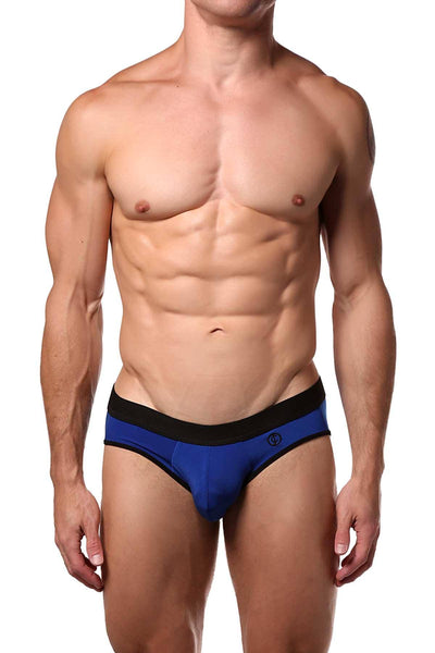 JustinCase Blue Brief - CheapUndies.com