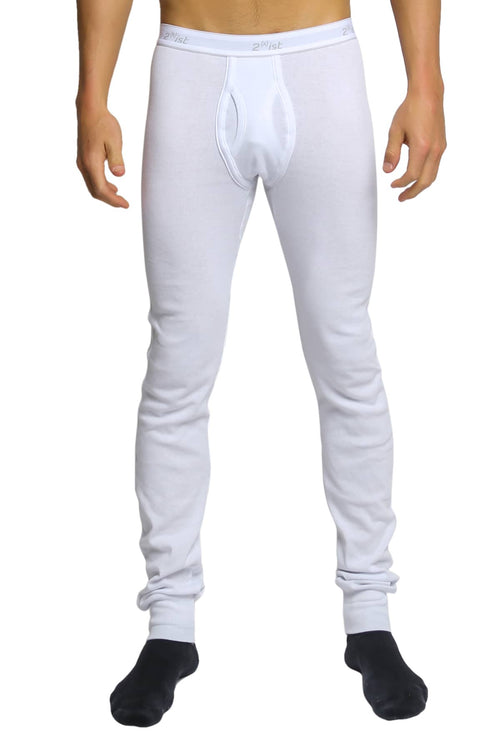2(X)IST White Essential Long Underwear - CheapUndies.com