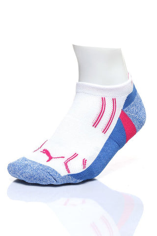 Puma White Pastel Low-Cut 3-Pack Socks