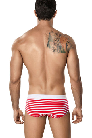 Clever Red Hanauma Swim Brief