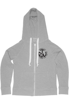 Rxmance Unisex Dawn Grey Circle Ten Hoody