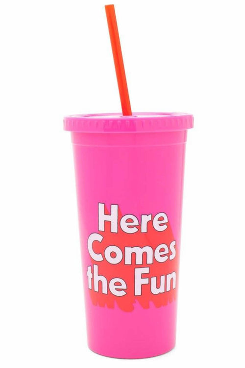 Ban.do Pink Fun Tumbler WITHOUT Straw - CheapUndies.com