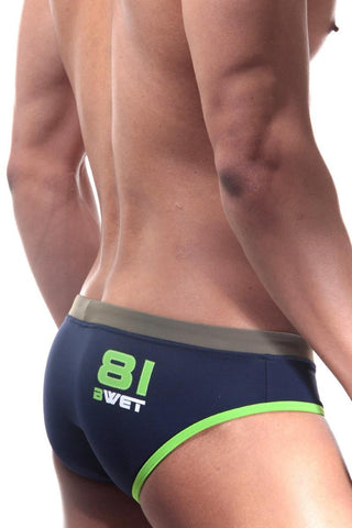 BWET Navy Hubert Swim Brief