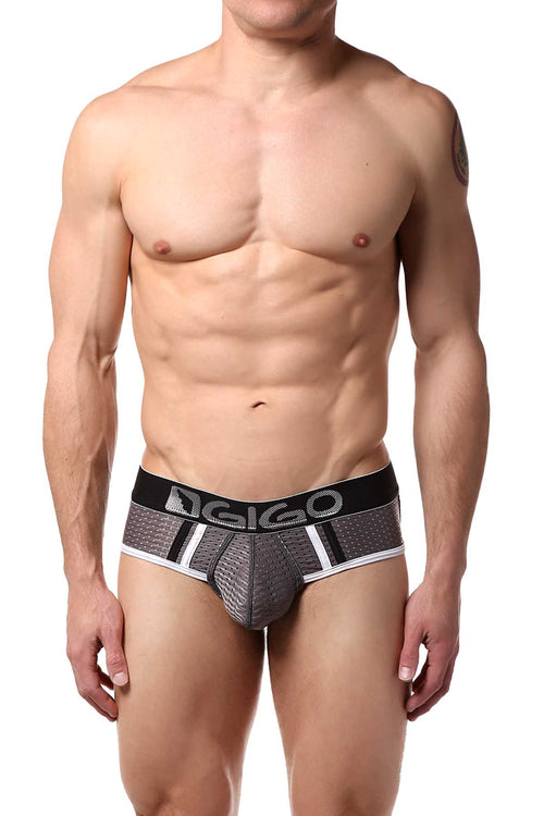 Gigo Grey Joki Ses Brief - CheapUndies.com