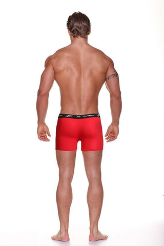 Freemen Red Crazed Boxer Brief