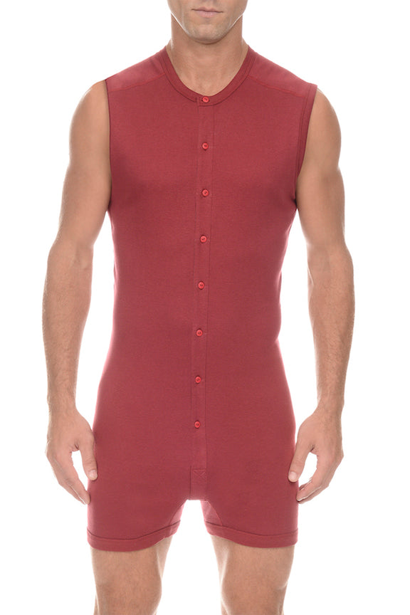 2(X)IST Cranberry Tartan Bike Suit - CheapUndies.com