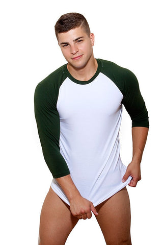 CheapUndies Aspen Green Raglan Shirt