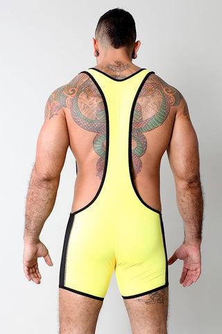 Timoteo Yellow G-Force Singlet