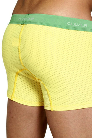 Clever Yellow Mesh Sport Boxer