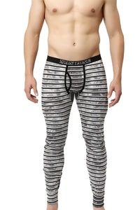Man Zone Grey Steam Long John
