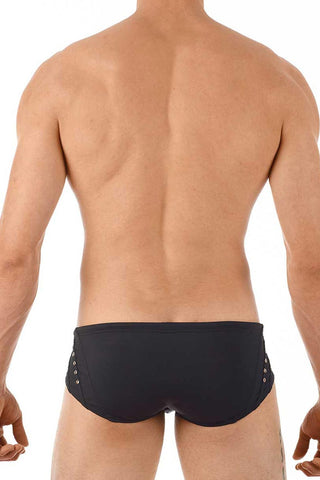 Gregg Homme Black Sunstud Swim Brief