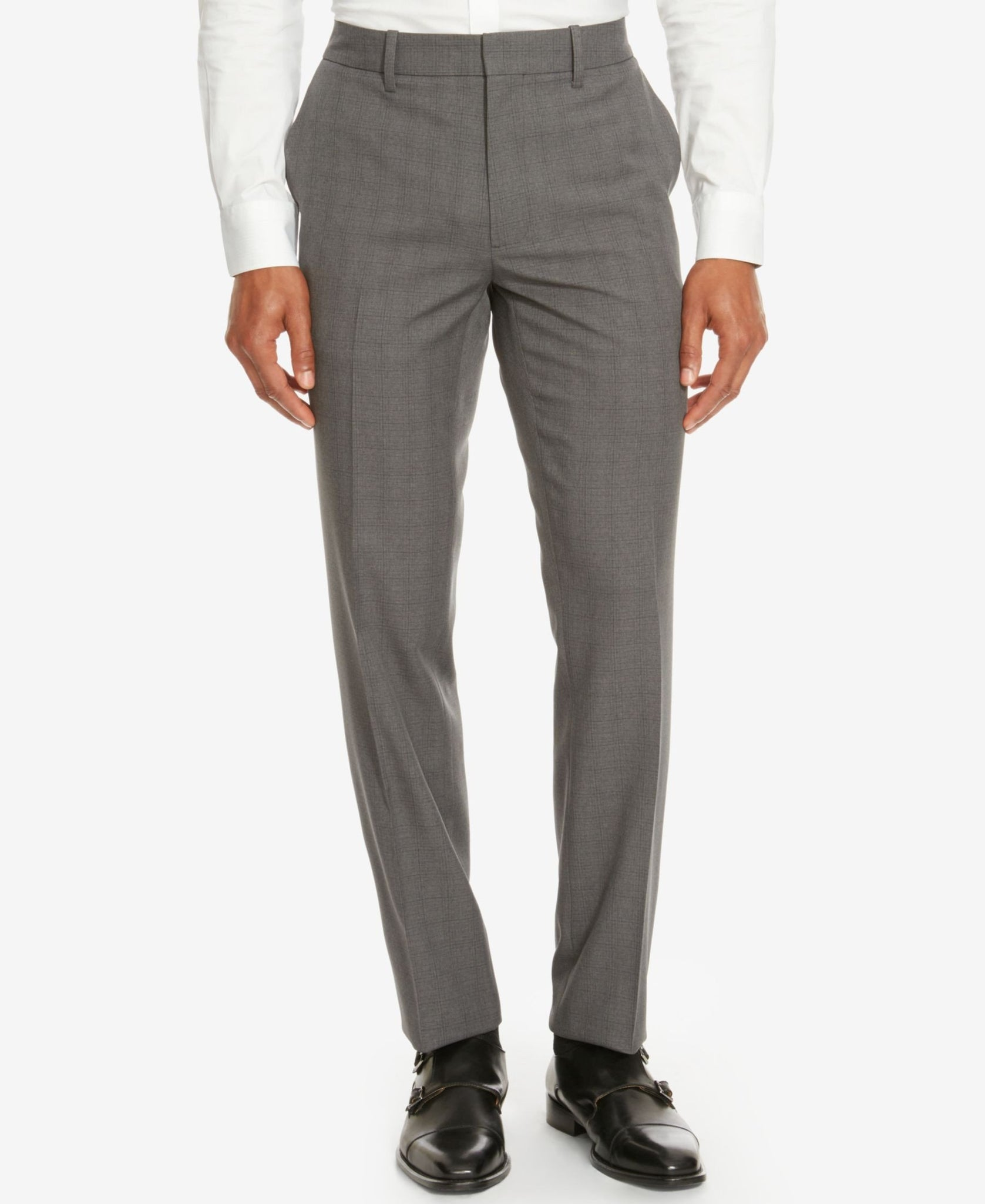 Kenneth Cole Reaction Men's Plaid Dress Pants