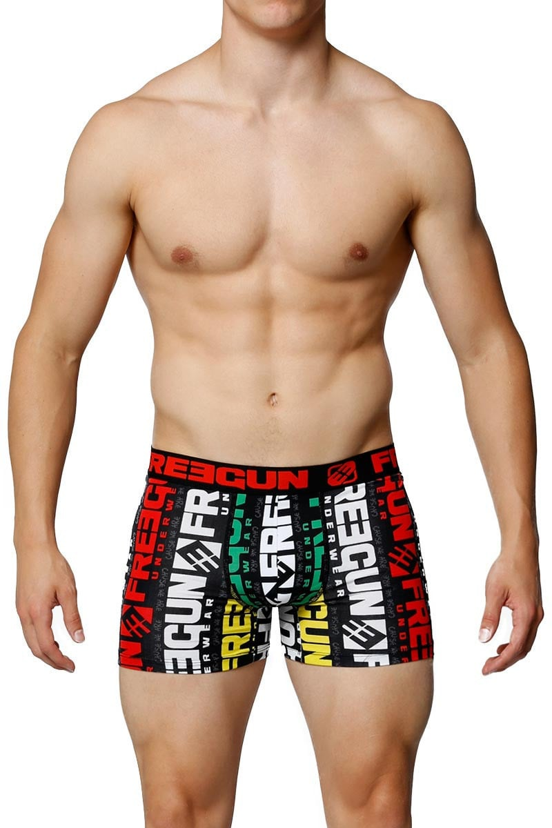 Freegun Red Logo Boxer Brief